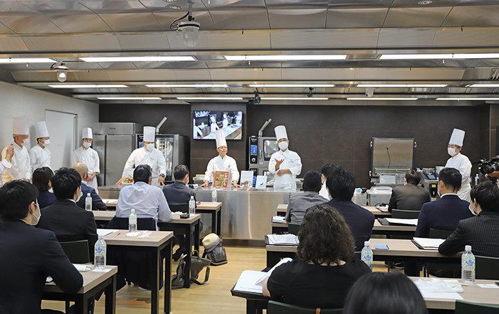 クラブ・ド・タスキドール主催 フランス料理講習会