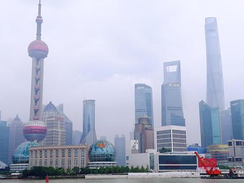 上海都心の様子